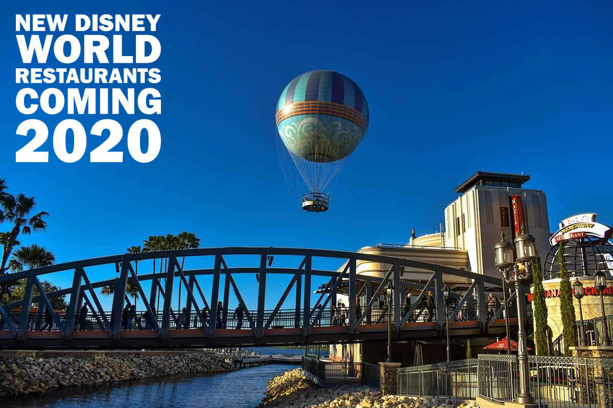New Disney World Restaurants Coming 2020